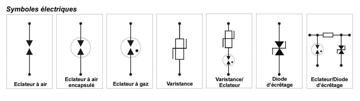 Schema Branchement Cablage Parafoudre De Secteur Circuit